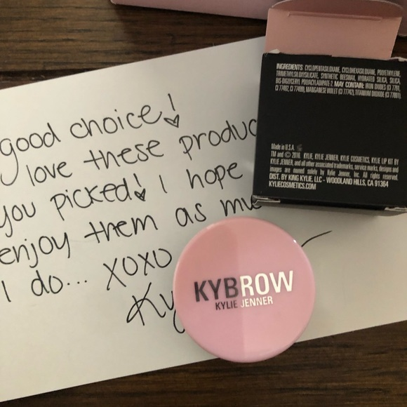 Kylie Cosmetics Other - Kylie brow pomade